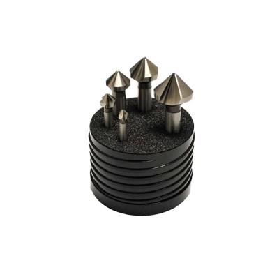 SET (5pc) Metric  3 Flute 82º Cobalt Countersinks